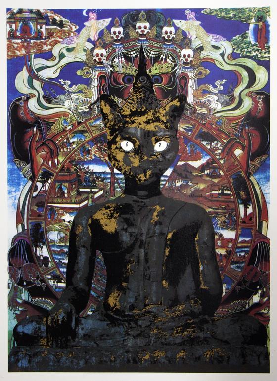 Buddha Cat - Karen Fiorito