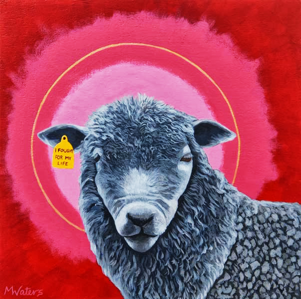 Not Like Sheep to the Slaughter - Michelle Waters