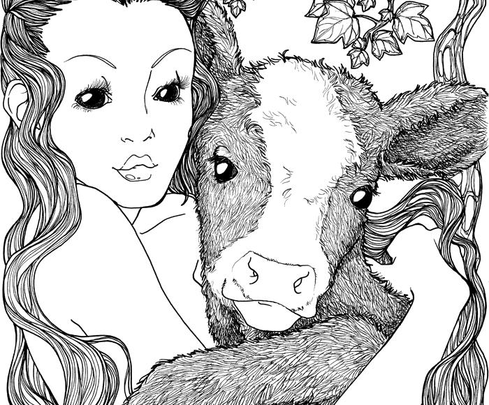 Calf Nymph - Jade Monica Bello