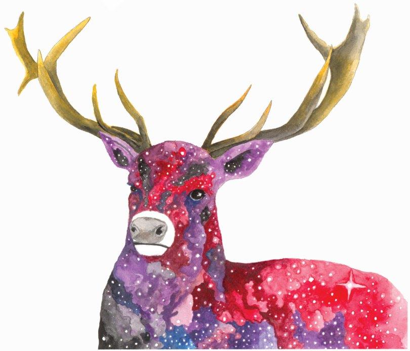 Celestial Ghost Elk - Aaron Wright