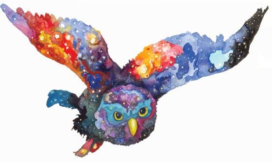 Celestial Ghost Owl - Aaron Wright