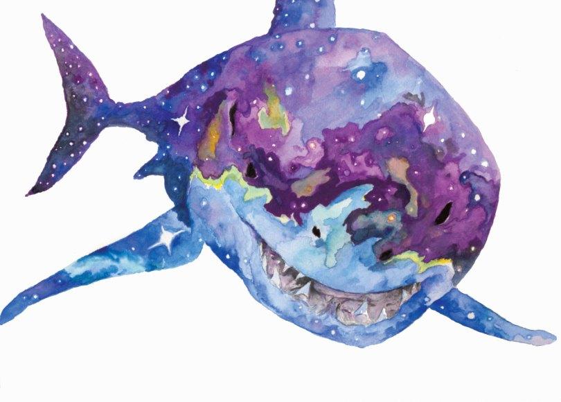 Celestial Shark - Aaron Wright