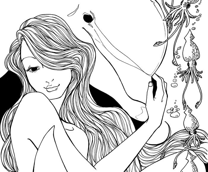 Dolphin Nymph - Jade Monica Bello
