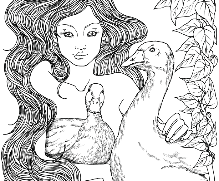 Duck Goose Nymph - Jade Monica Bello