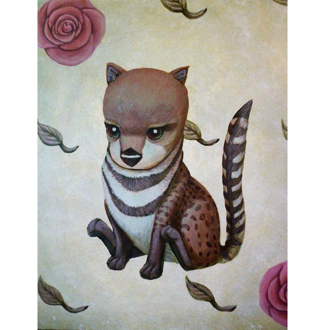 Extinct Animal Malabar Civet - Sarah Stupak