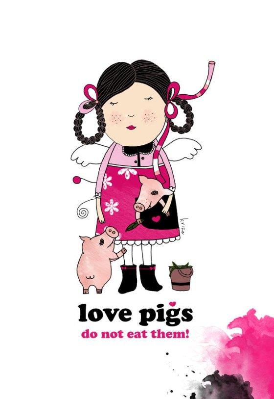 Love Pigs - Kristina Sabaite