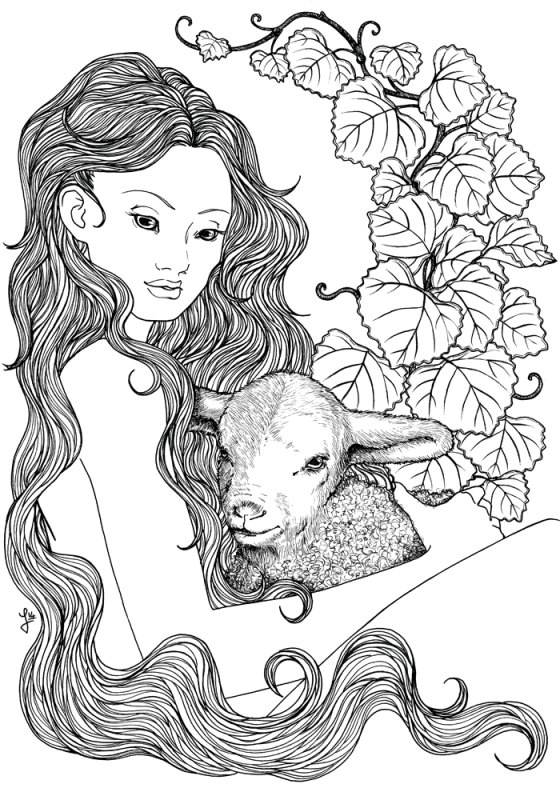 Lamb Nymph - Jade Monica Bello