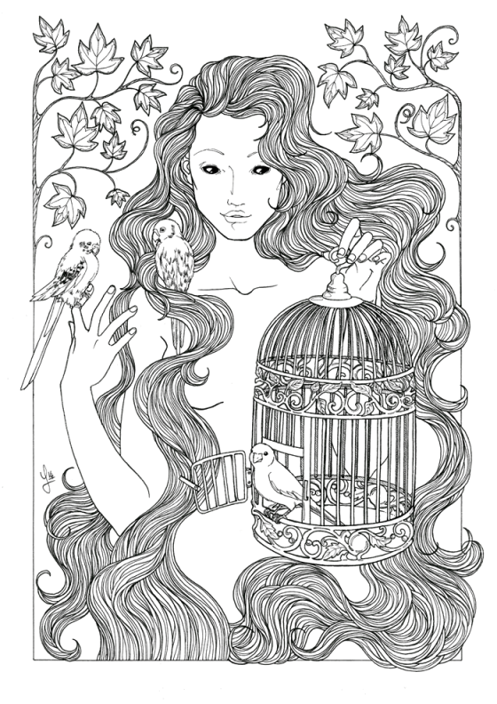 Liberation Nymph - Jade Monica Bello
