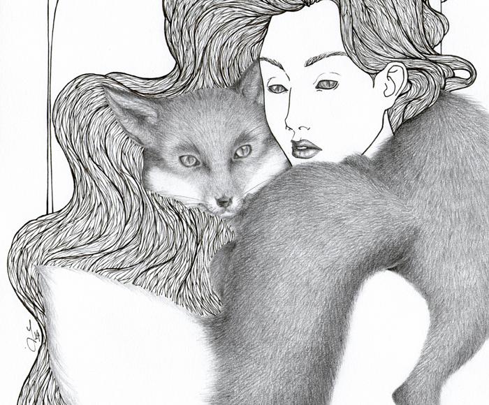 Fox Nymph - Jade Monica Bello