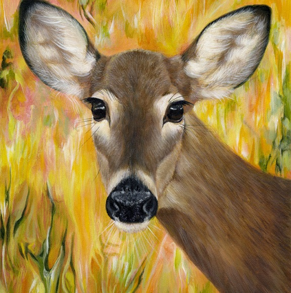 Deer Spirit - Paula Menetrey