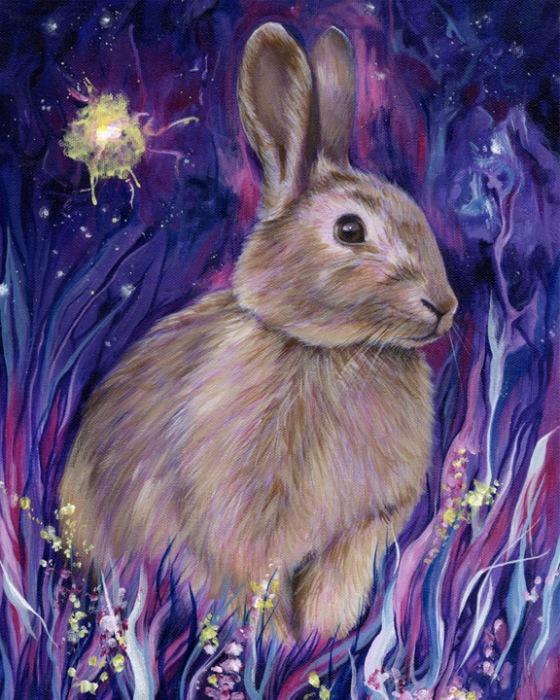 Rabbit Spirit - Paula Menetrey
