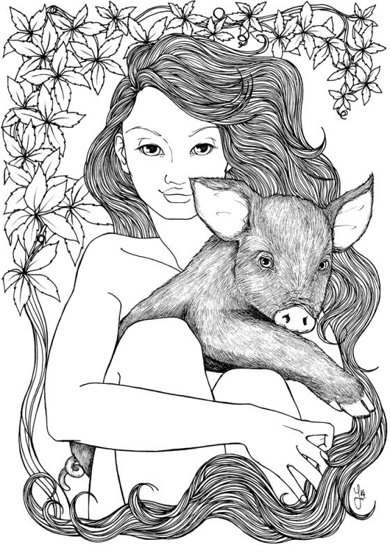 Pig Nymph - Jade Monica Bello
