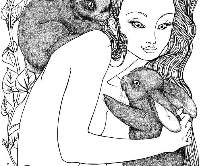 Rabbit Nymph - Jade Monica Bello