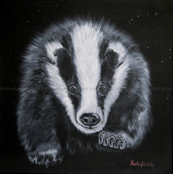 Starry Badger - Kathy Livick