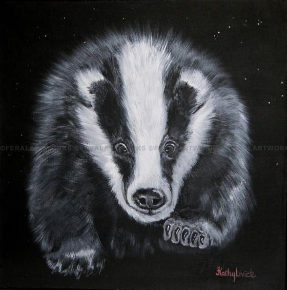 Starry Badger - Kathy Livick